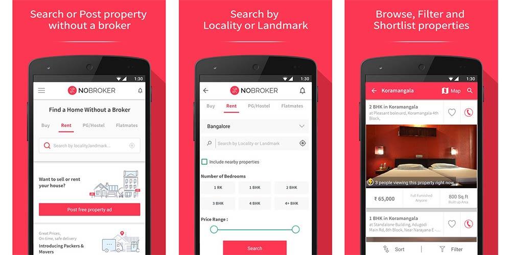 NoBroker_Mobile_App