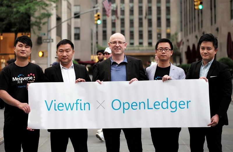 ViewFin_OpenLedger_Partnership_NYC