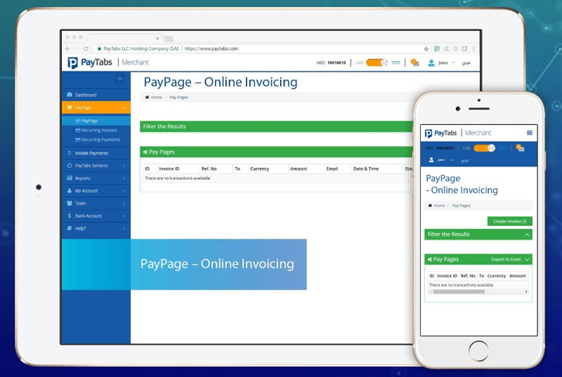 PayTabs_Online_Invoicing